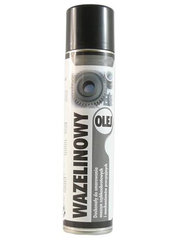 Olej wazelinowy w sprayu