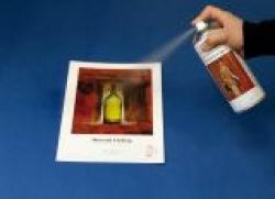 Spray do zabezpieczania wydruków