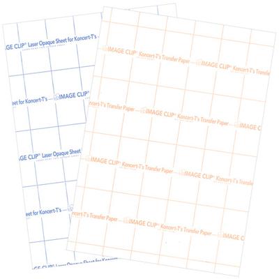 Image Clip Koncert TS - papier transferowy do drukarek laserowych na ciemne i kolorowe tkaniny bez podtła