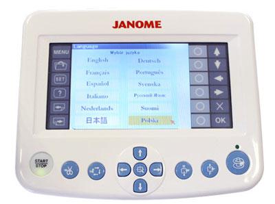 Hafciarka czteroigłowa JANOME MB-4 z oprogramowaniem Digitizer MBX v5.5