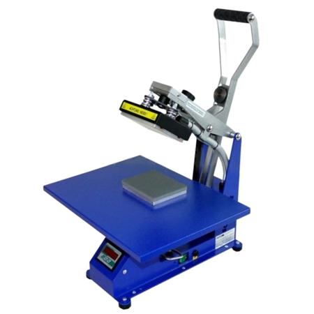 BluePressLine Mini S - prasa transferowa do powierzchni płaskich, otwieranie automatyczne