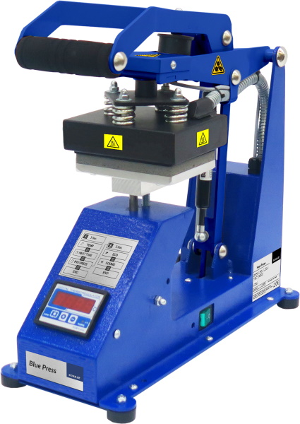 Blue Press 10x13 cm - prasa transferowa do powierzchni płaskich, otwieranie automatyczne