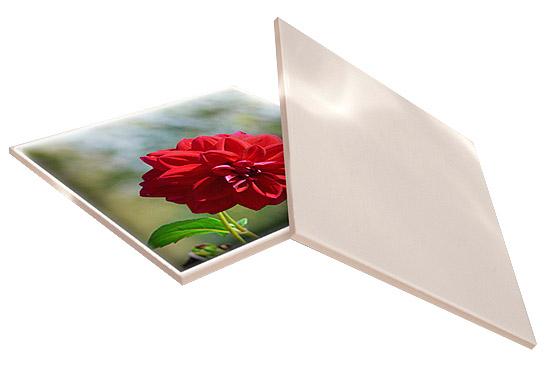 Kwadratowa płytka ceramiczna do sublimacji - bok 15,2 cm