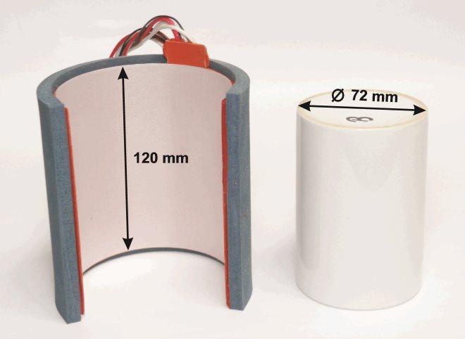 Element grzewczy do prasy BluePressLine Mug / Mug Press do kubków fi 72