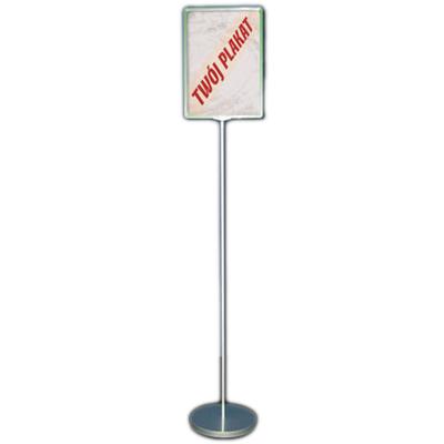 Dwustronny stojak informacyjny z ramkami plastikowymi (format A4)