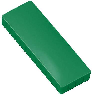 Prostokątne magnesy biurowe - zielone
