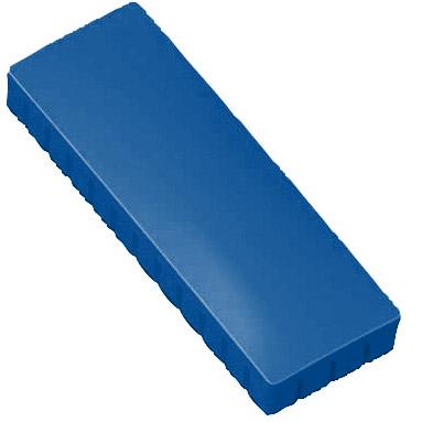 Prostokątne magnesy biurowe - niebieskie