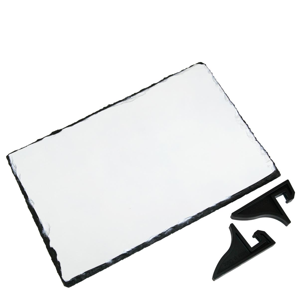 Prostokątna płyta kamienna do sublimacji - 29 x 19 cm