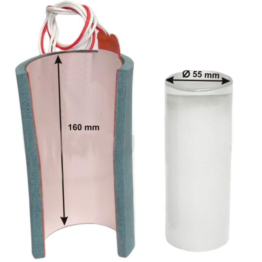 Element grzewczy do prasy BluePressLine Mug / Mug Press do szklanek typu longdrink fi 55