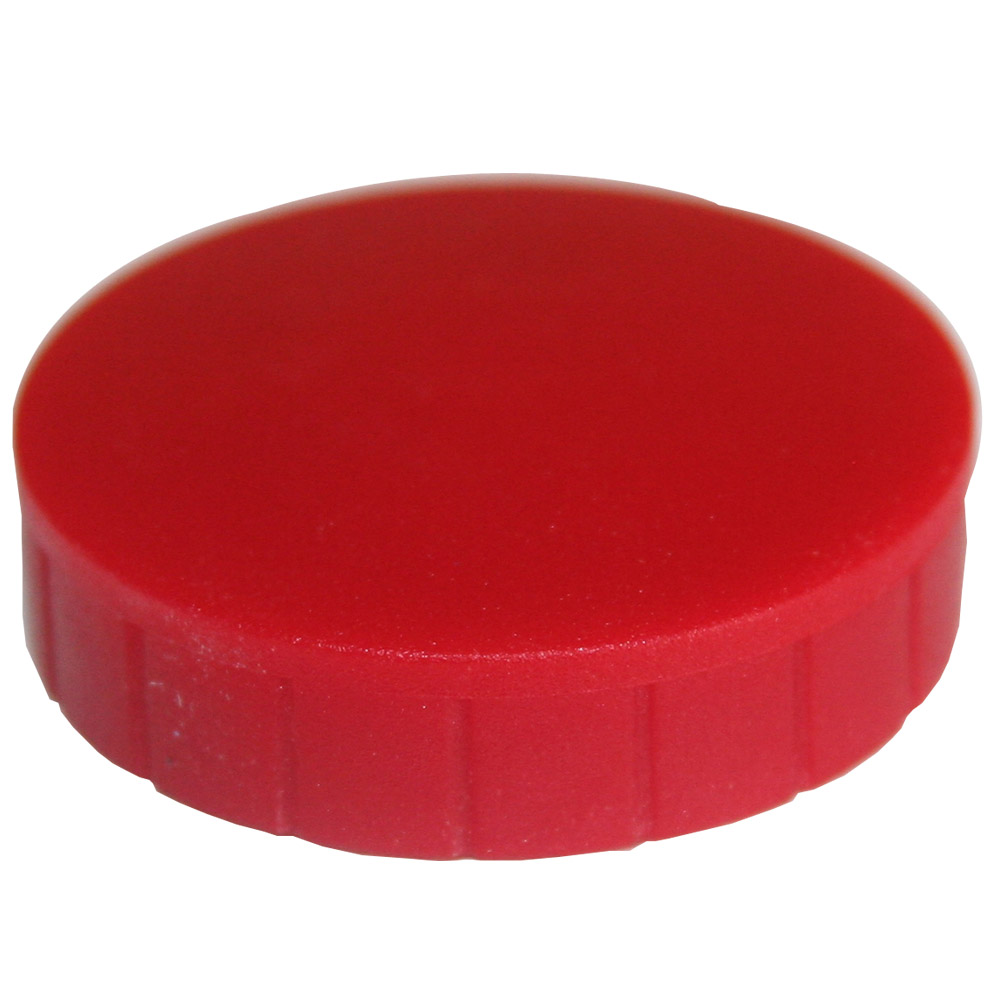 Magnesy okrągłe czerwone