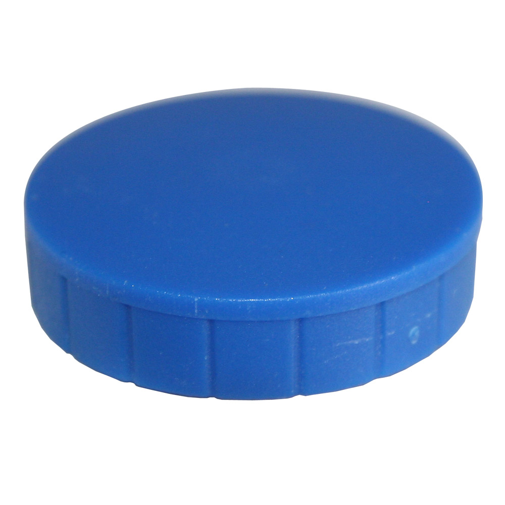 Magnesy okrągłe niebieskie