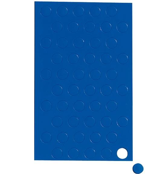 Geometryczne symbole magnetyczne - niebieskie kółka