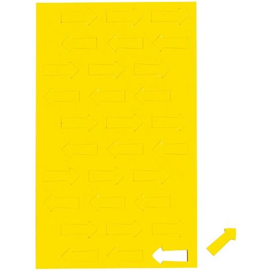 Geometryczne symbole magnetyczne - żółte strzałki