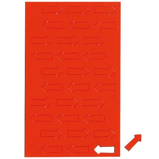 Geometryczne symbole magnetyczne - czerwone strzałki