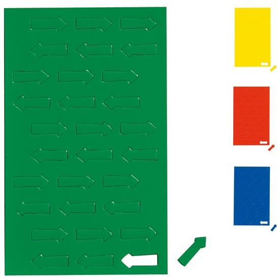 Geometryczne symbole magnetyczne - zielone strzałki