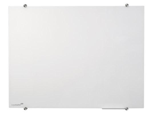 Tablica szklana suchościeralna magnetyczna - biała