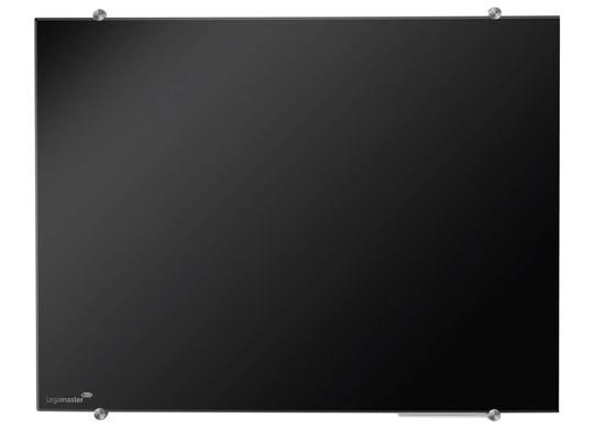 Tablica szklana suchościeralna magnetyczna - czarna