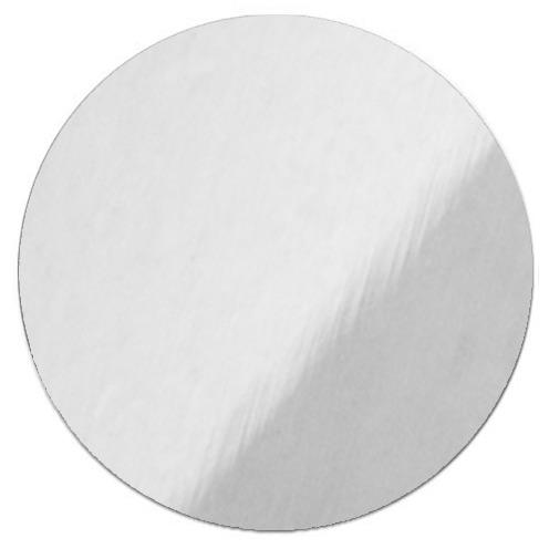 Srebrny, błyszczący krążek metalowy do sublimacji - 50 sztuk