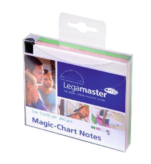 Magic Chart Notes - elektrostatyczne suchościeralne karteczki z markerem