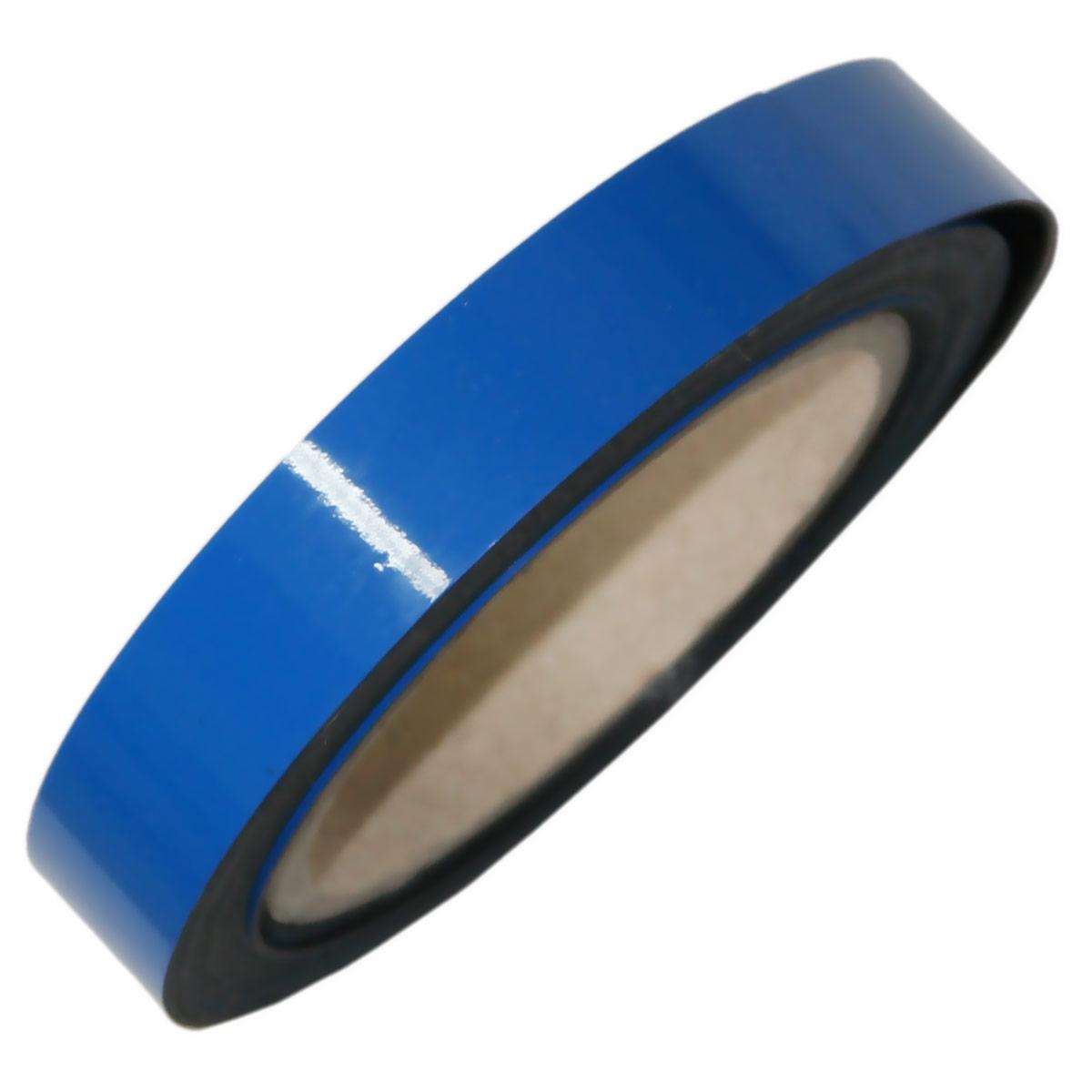c85a45a34ef413 Pasek magnetyczny niebieski Wymiar: 2 cm x 5 m Grubość: 0,85 mm ...