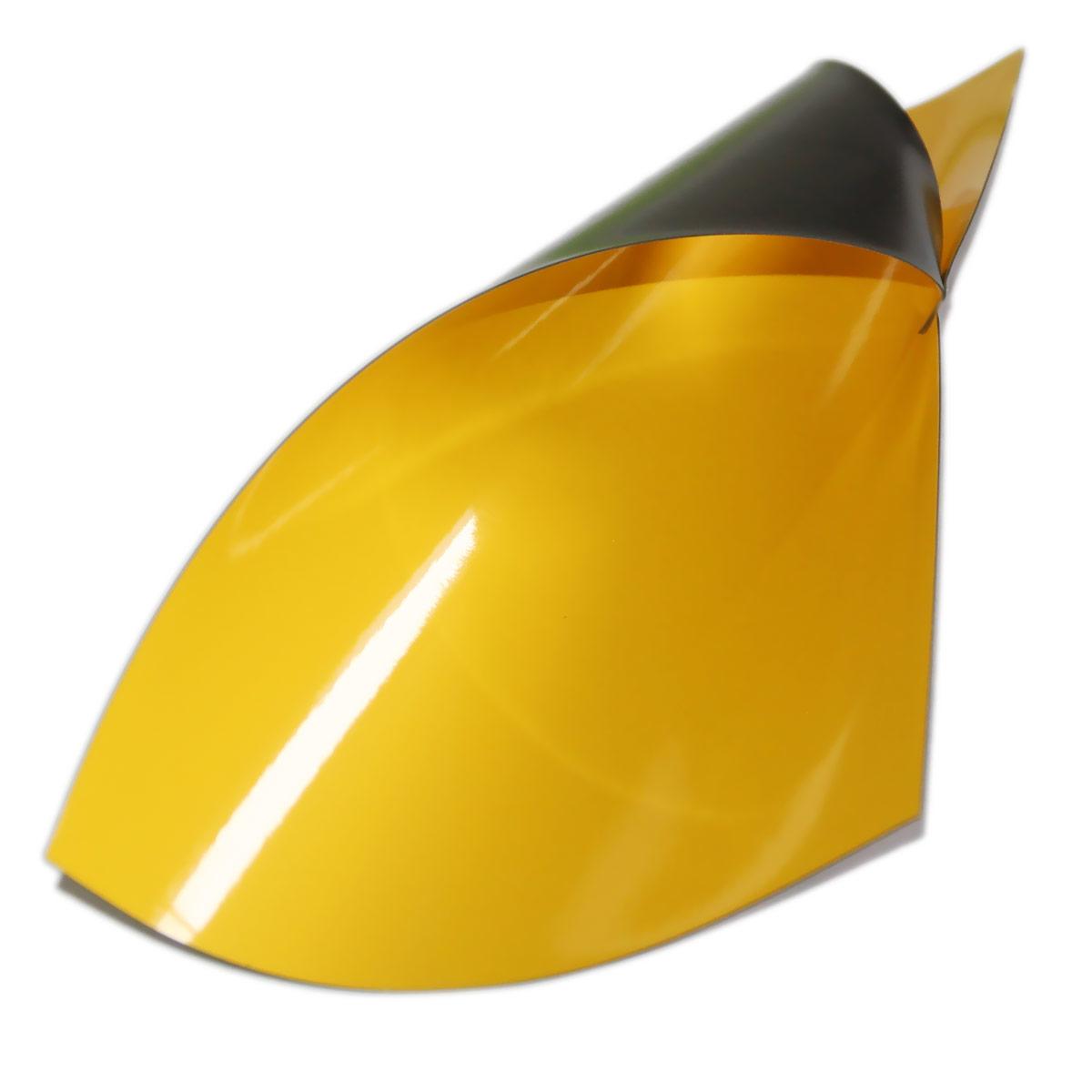 Folia magnetyczna A4 - żółta