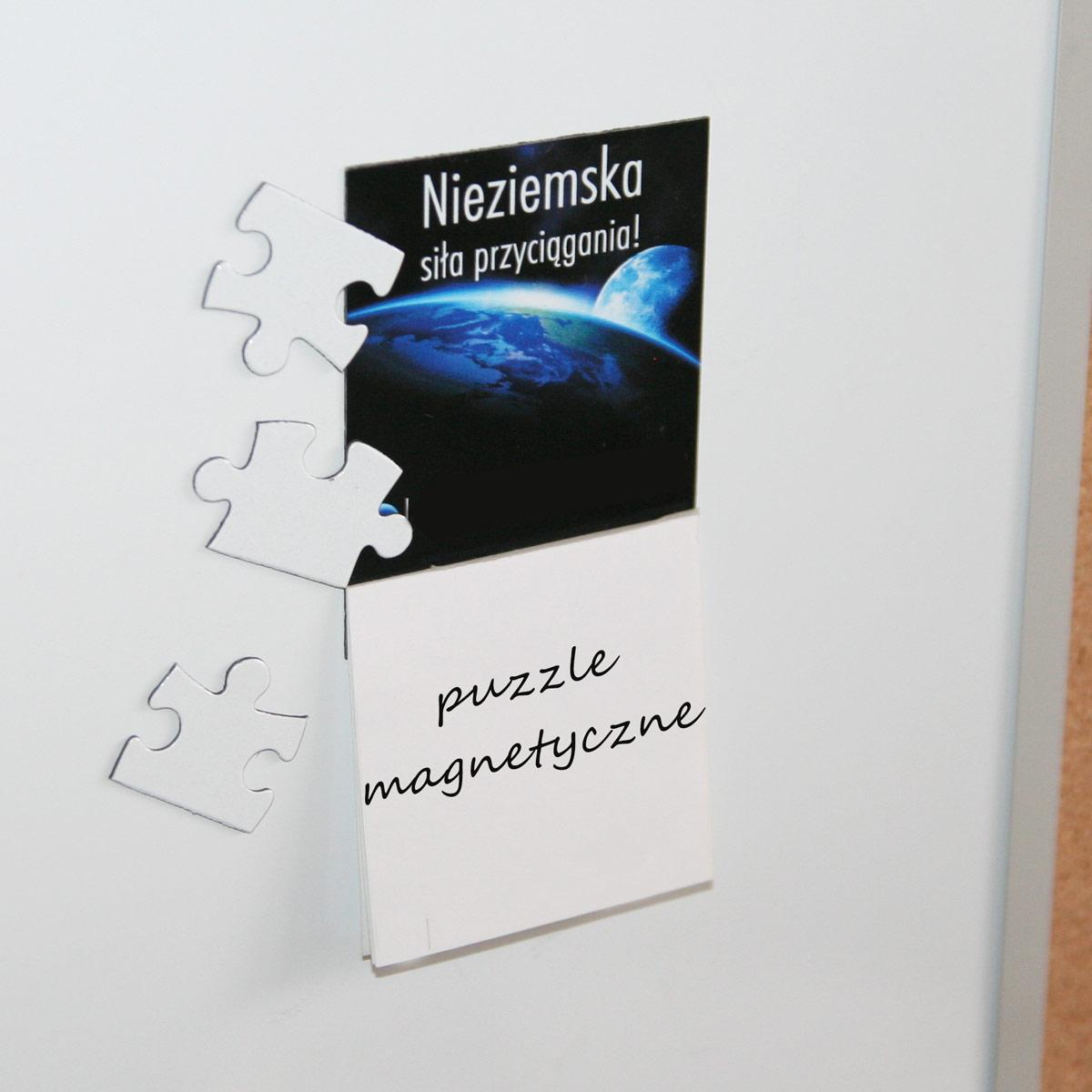 Puzzle magnetyczne do sublimacji - 120 elementów