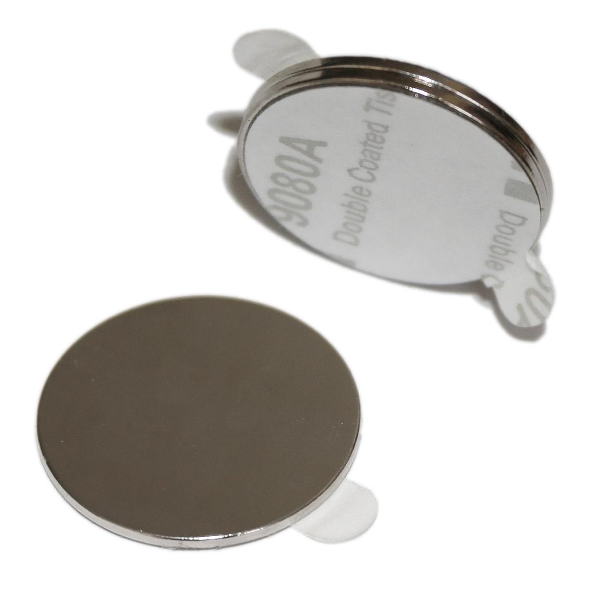 Okrągłe magnesy neodymowe z klejem