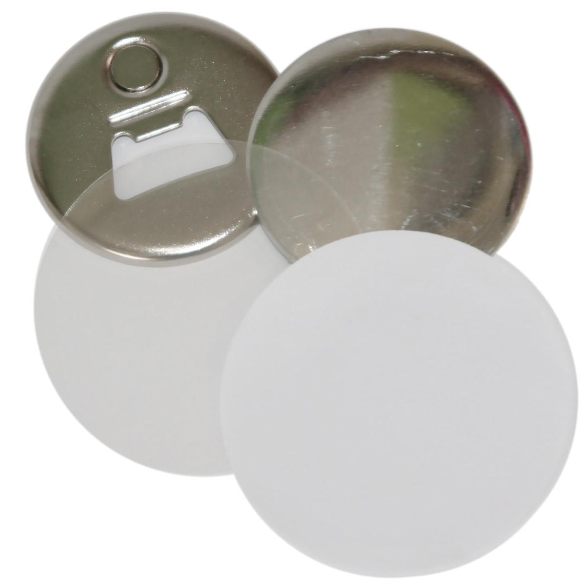 Komponenty do przypinek z otwieraczem magnetycznym