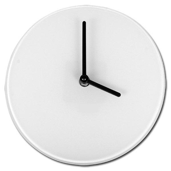 Zegar szklany do sublimacji