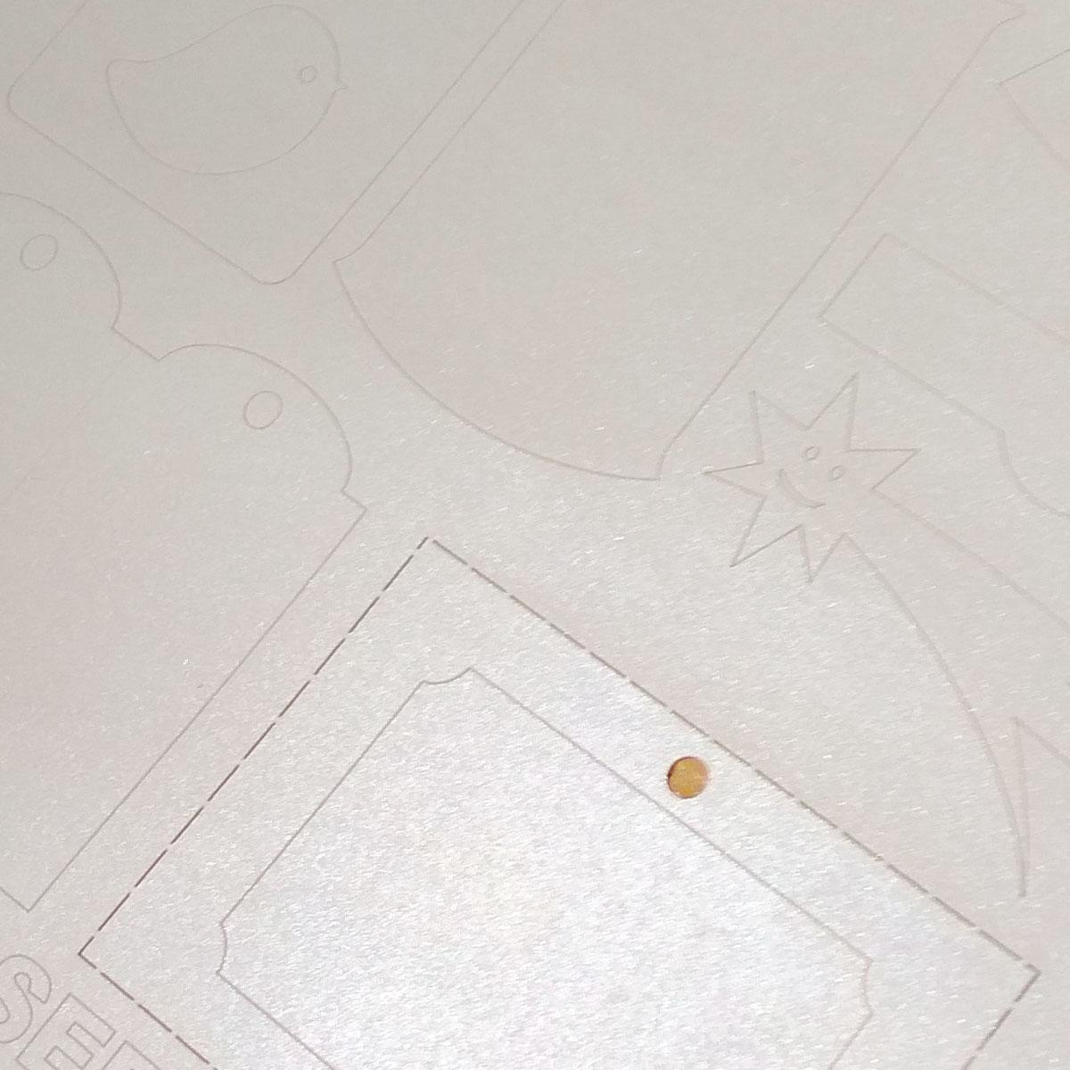 Metalizowany papier samoprzylepny A4 do drukarek laserowych i kopiarek - perłowy - 1000 arkuszy