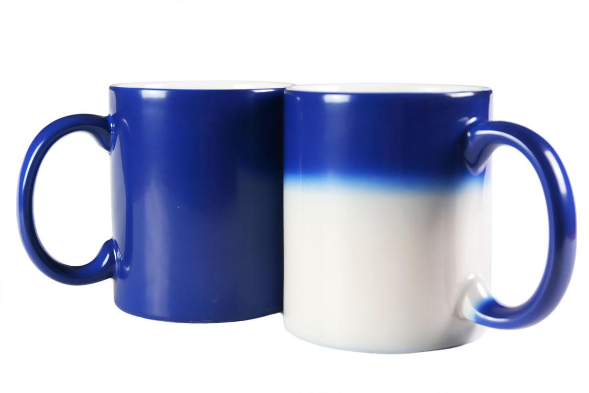 Magiczny kubek do sublimacji zmieniający kolor - niebieski