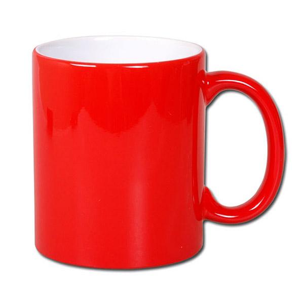Magiczny kubek do sublimacji zmieniający kolor - czerwony