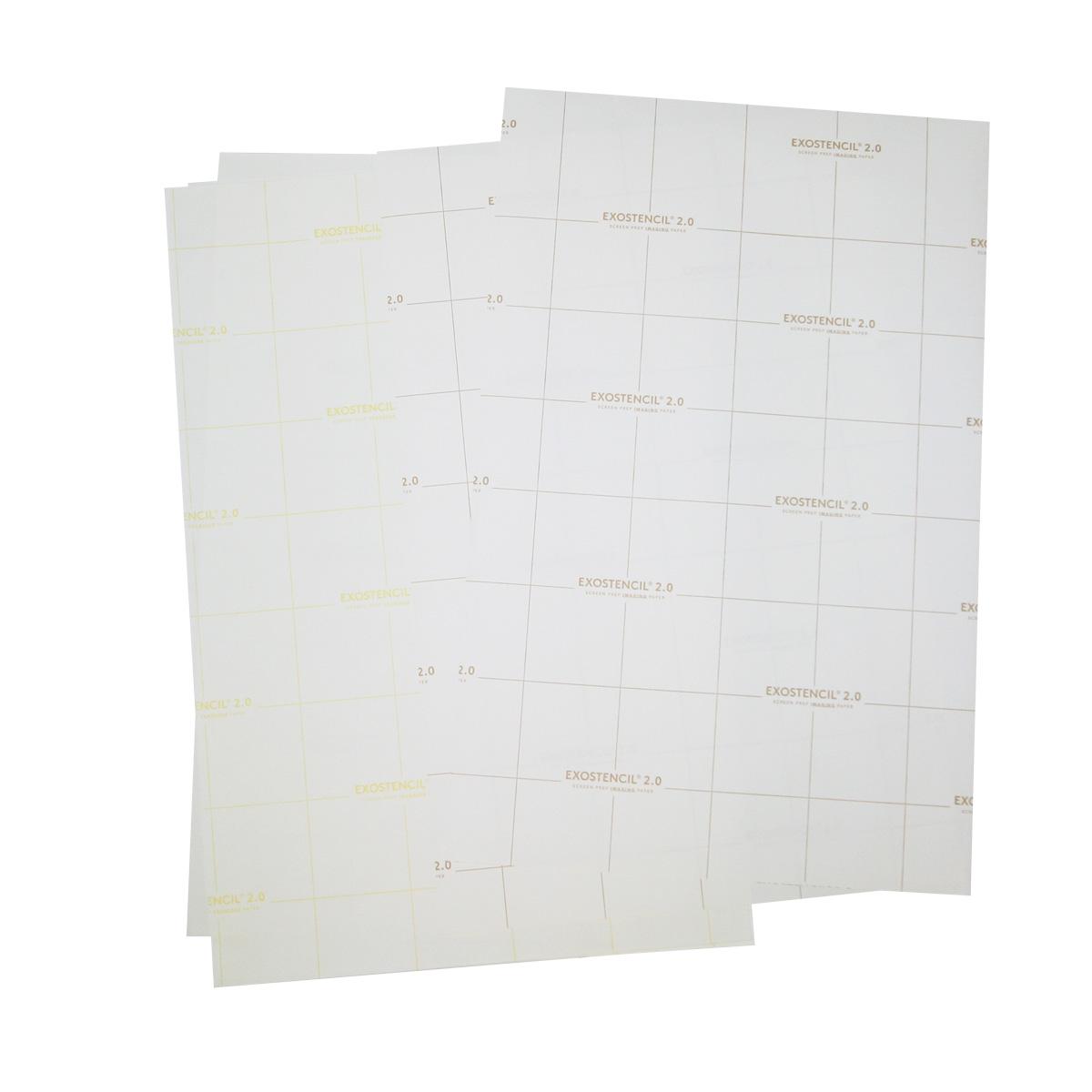 Exostencil - papier do drukarek laserowych do przygotowania szablonów do sitodruku