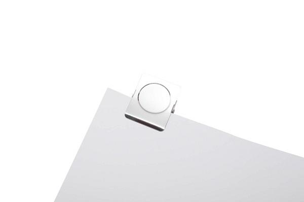 Klip na dokumenty z magnesem - 2 sztuki