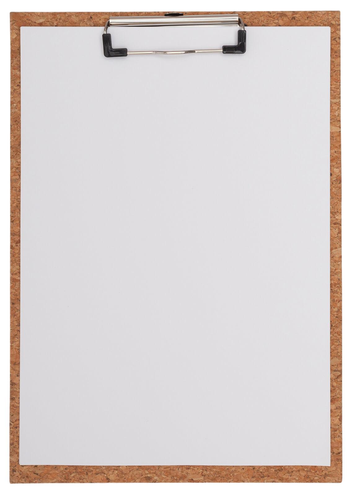 Clipboard korkowy