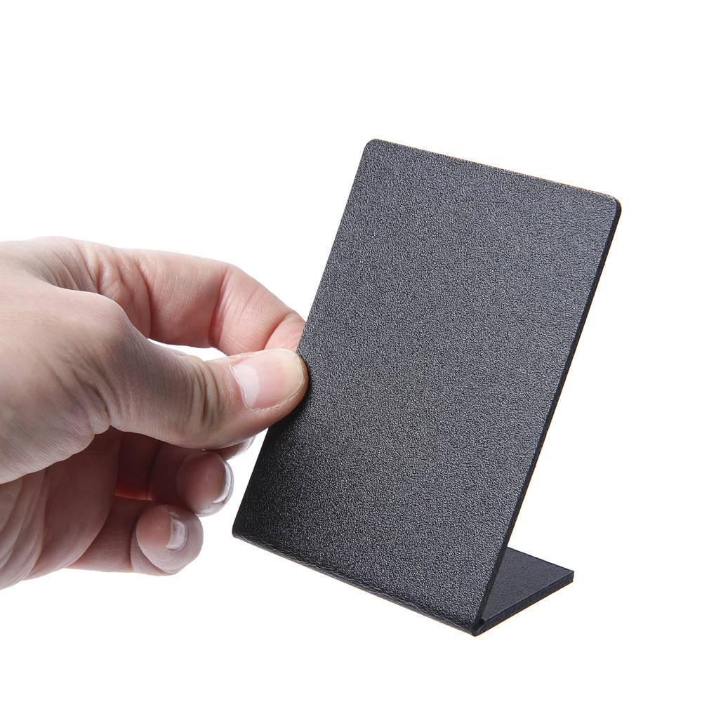 Stojak na menu A7 do rysowania kredą - 5 sztuk