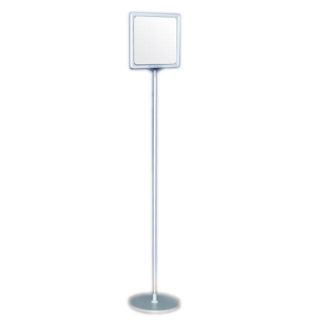 Dwustronny stojak informacyjny z ramkami plastikowymi (format A3 poziome)