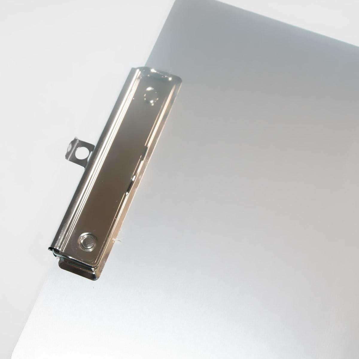 Clipboard aluminiowy do sublimacji z klipsem i wysuwaną zawieszką