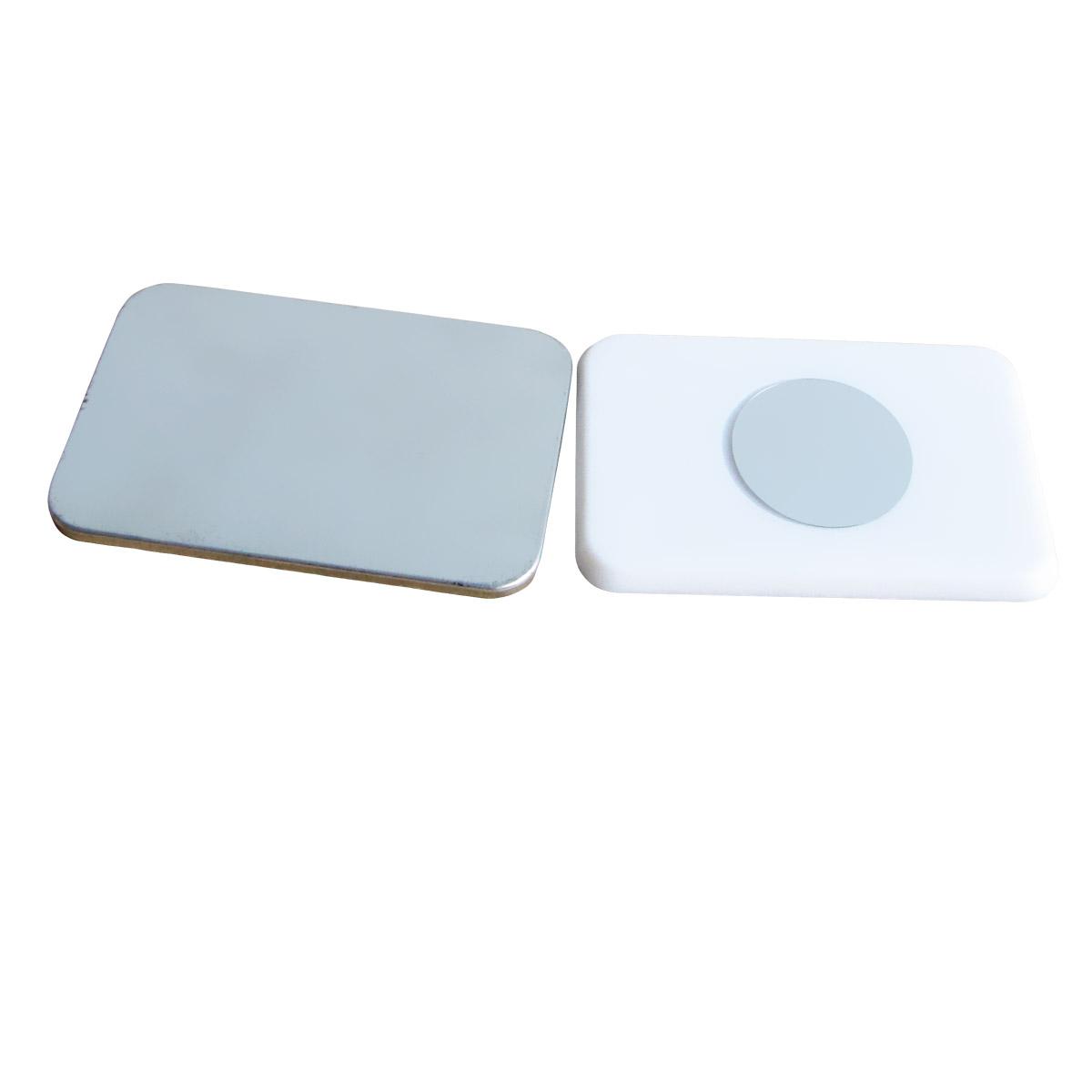 Komponenty prostokątne do przypinek z magnesem neodymowym