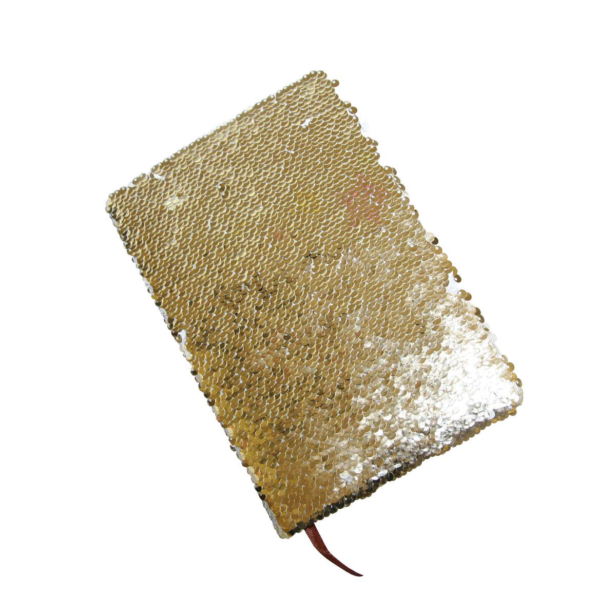 Notes - pamiętnik z okładką z dwukolorowymi cekinami do sublimacji