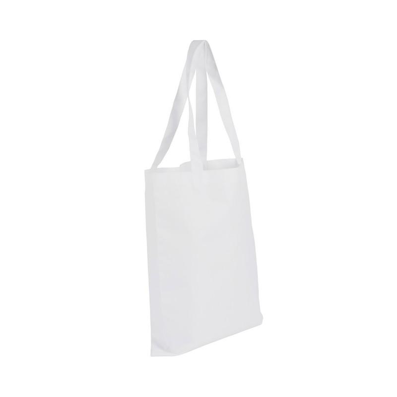 Biała torba na zakupy do sublimacji