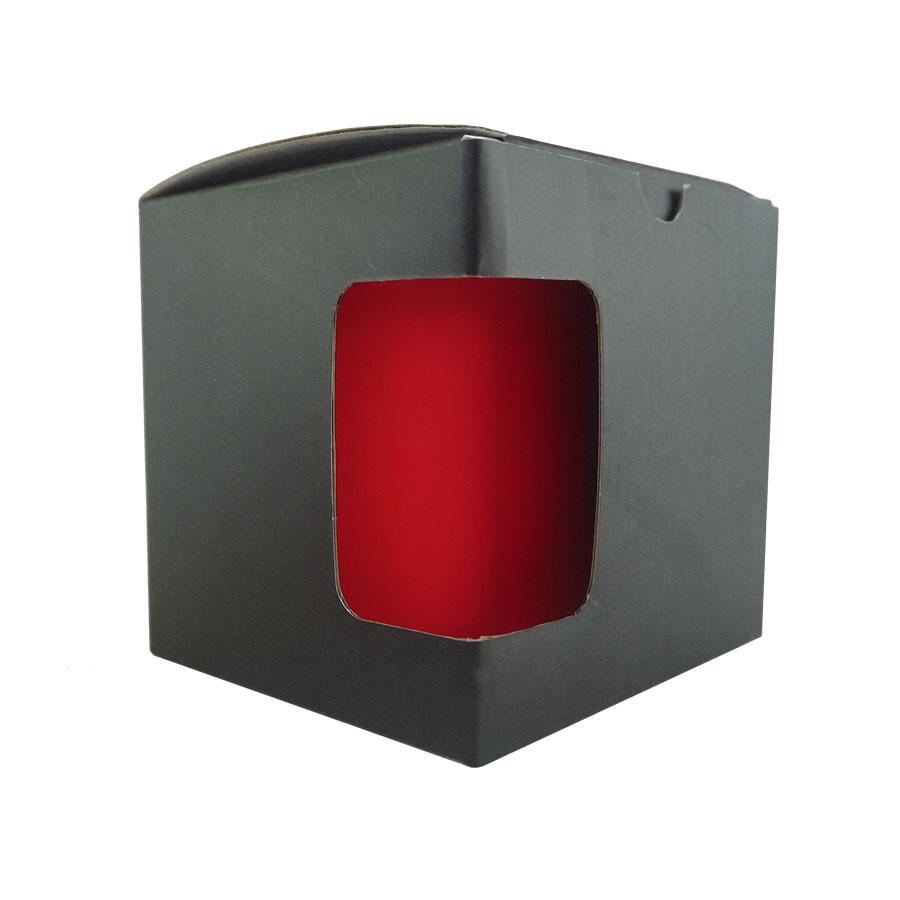 Kartonik na kubek z okienkiem