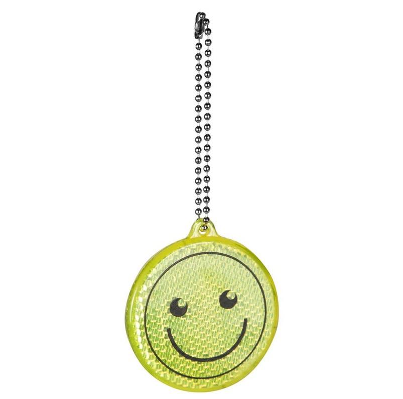 Brelok odblaskowy - uśmiech