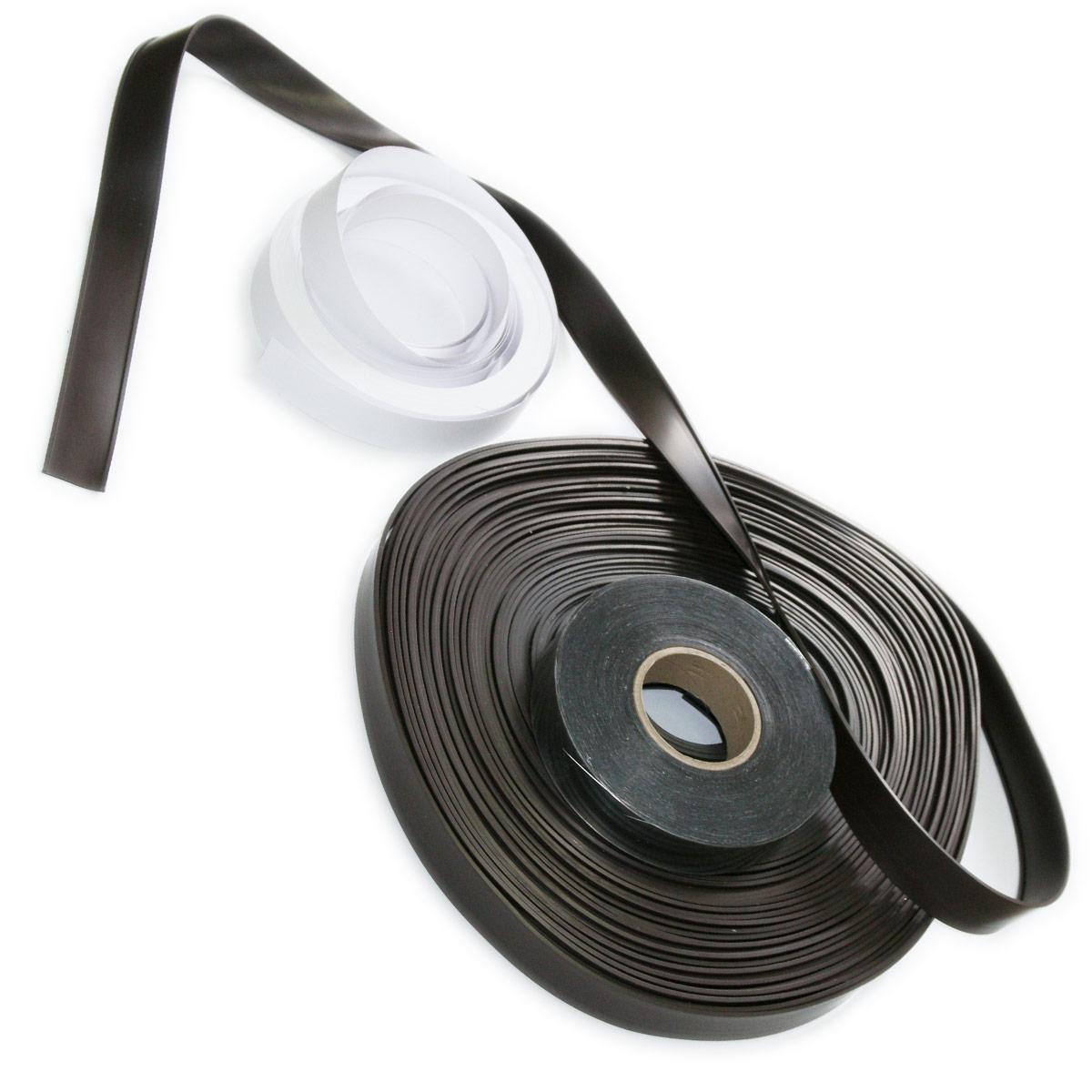 Magnetyczny uchwyt na etykiety (C-Profil + etykieta papierowa + przezroczysta folia PVC)