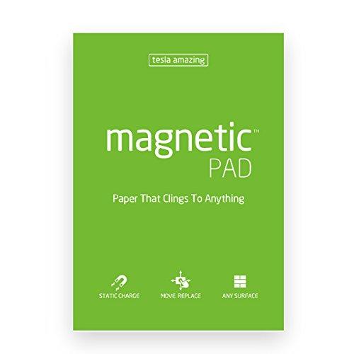 Elektrostatyczne suchościeralne arkusze na notatki magnetic PAD - zielony