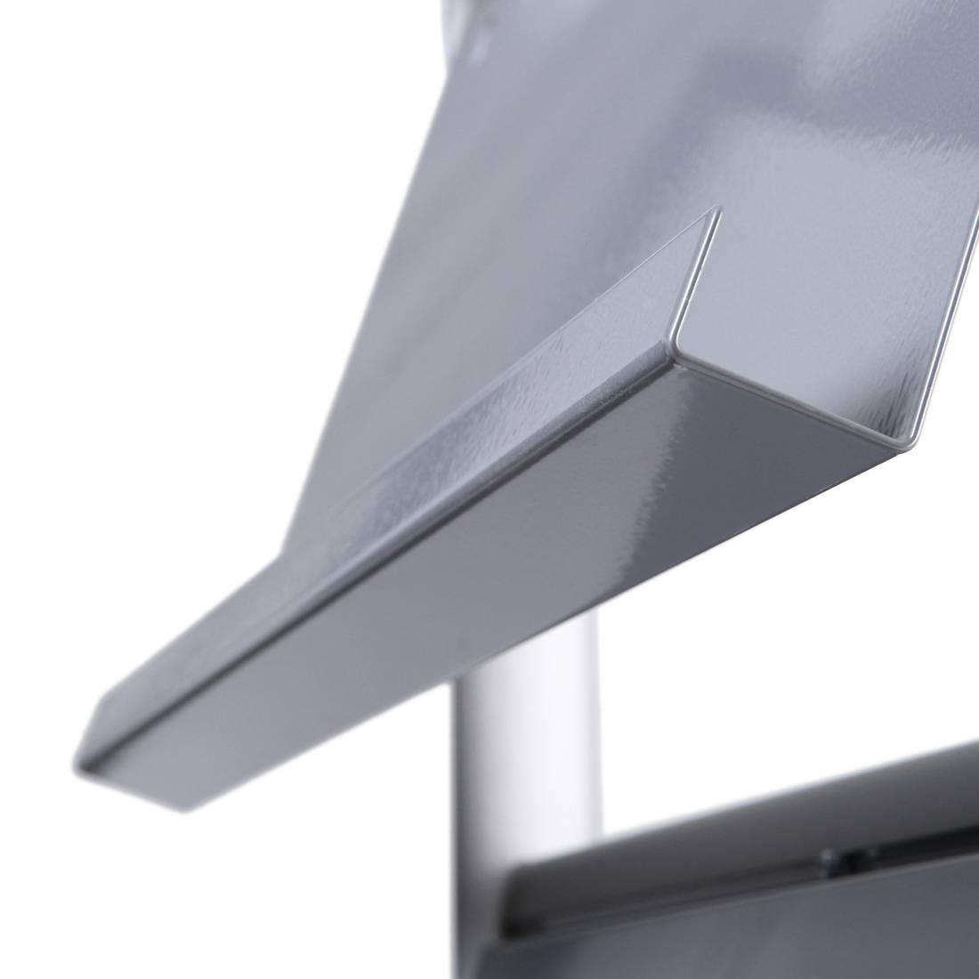 Stojak na ulotki Multipocket z 4 półkami (format A4)