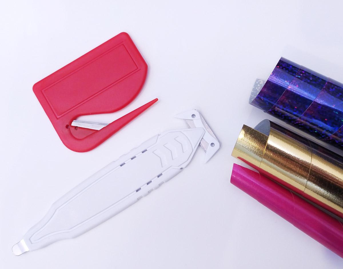 Ekonomiczny nóż bezpieczny do cięcia folii
