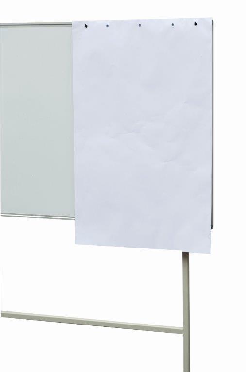 Tablica magnetyczna suchościeralna obrotowa na stojaku