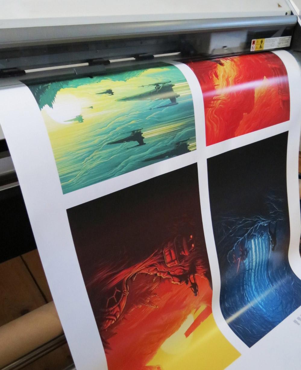 Profesjonalny papier fotograficzny błyszczący do ploterów atramentowych w roli