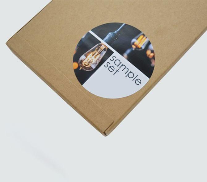 Fotograficzny papier samoprzylepny z półpołyskiem do drukarek laserowych - 100 arkuszy